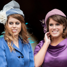 Royal row: Beatrice (left) and Eugenie