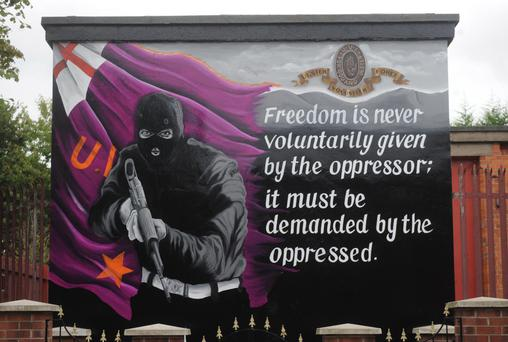 Wall of silence: nothing is done about the murals in Belfast and beyond