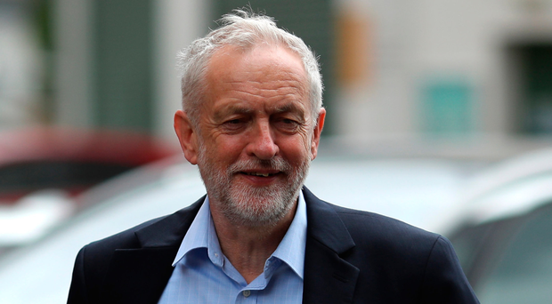 Under pressure: Labour leader Jeremy Corbyn has found himself quizzed over links with the IRA