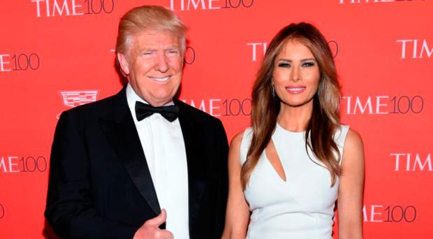Family woes: Donald and wife Melania Trump