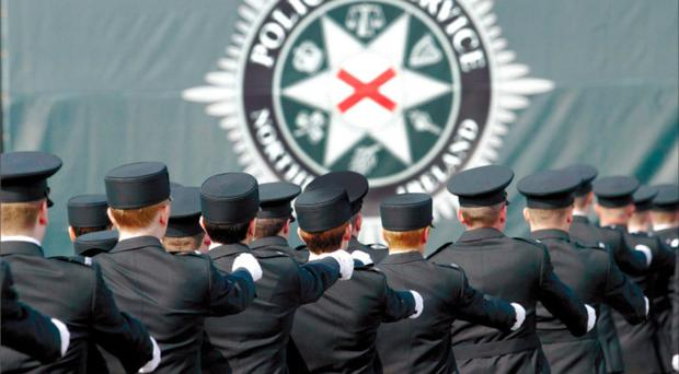 Clever PSNI officers have been using the recent snowy, frosty weather as a means