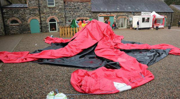 Deflating time: Bangor's winter wonderland was far from being a magical family experience