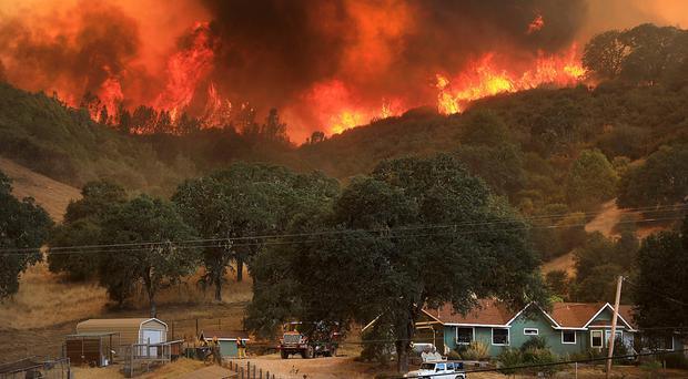 Fleeing the flames: parts of California have been ravaged