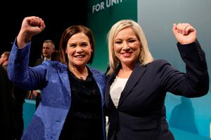 Michelle O'Neill and Mary Lou McDonald could denounce the social media trolling
