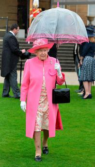 Last week the Queen suffered a minor embarrassment because her umbrella apparently formed a parabolic curve that magnified her speech