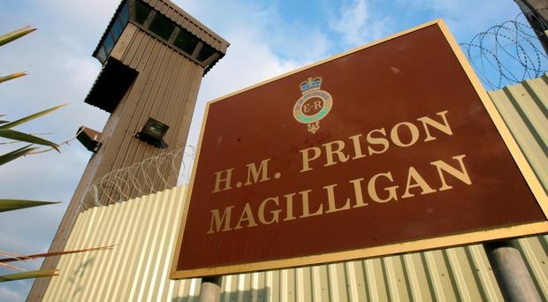 The number of legal claims by prisoners at Magilligan Prison have risen sharply