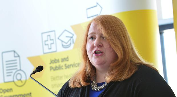 Alliance leader Naomi Long got involved in Twitter row over Kingsmill cartoon