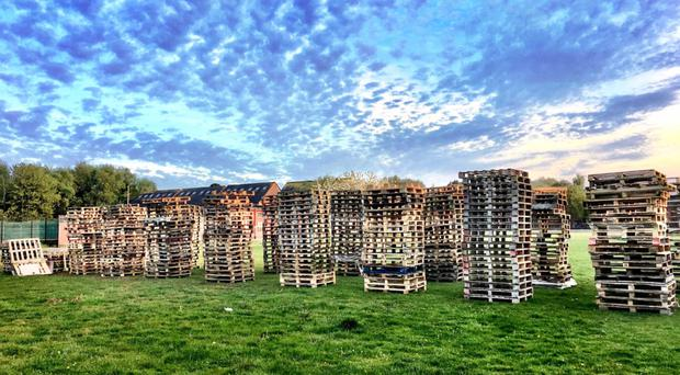 The DUP supports respectable bonfires while Sinn Fein want them all banned