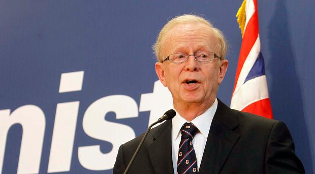 Ulster Unionist chairman Lord Empey has been campaigning on behalf of victims