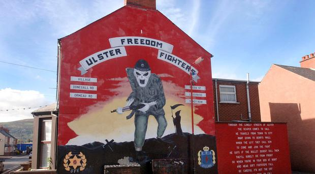 Loyalist paramilitaries are opposed to Theresa May�s Withdrawal Agreement backstop