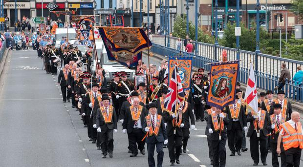 The Orange Order proudly declares itself to 'stand for the true Catholic Faith'