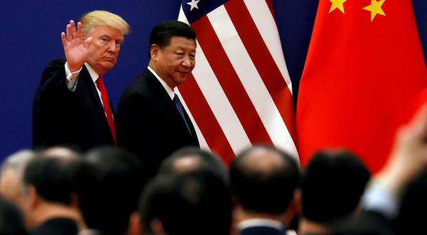 US President Donald Trump and President XI of China