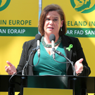 Shaun Treacy works closely with Sinn Fein president Mary Lou McDonald (pictured)