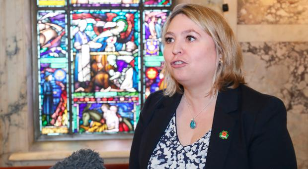 Karen Bradley has united the parties here — in disdain for the job she is doing