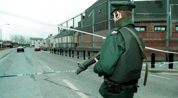 The RUC on patrol in 1997