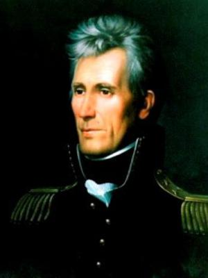 The seventh president of the United States, Andrew Jackson, who had roots in Ulster