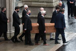 John Hume's funeral at St Eugene's Cathedral in Londonderry
