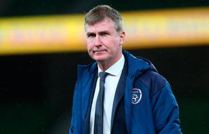 Dispute: The FAI accepted Ireland manager Stephen Kenny's explanation into why he showed the video before the England game