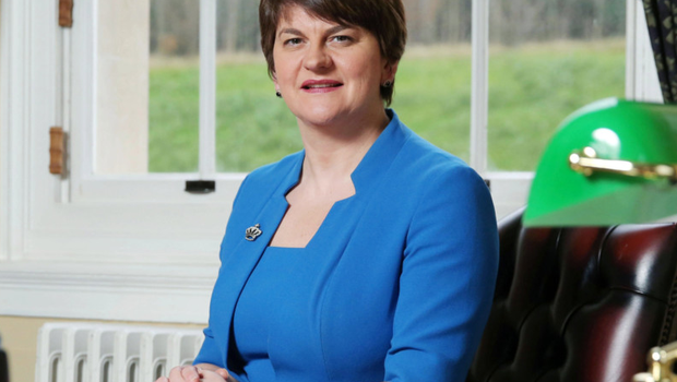 Arlene Foster at Parliament Buildings, Stormont