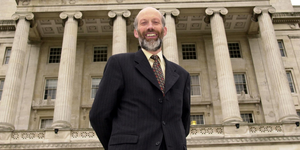 David Ford after becoming Alliance leader in 2001