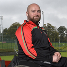 Former PSNI constable Peadar Heffron who lost his leg in a terrorist attack