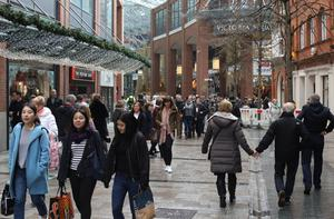 'The very fact that a number of non-essential shops were open gave a great psychological boost after weeks whencity and towncentreswere eerily deserted'