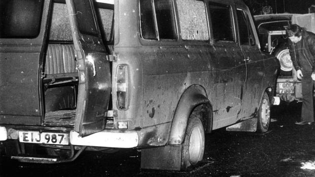 A statute of limitations for security forces would mean that any collusive element to cases such as Claudy, Kingsmill (pictured), or Loughinisland would make prosecutions of the paramilitaries involved very difficult