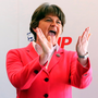 Arlene Foster is in talks with Theresa May