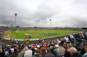 Casement Park GAA stadium in west Belfast, which is to be completely rebuilt