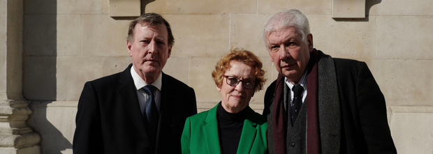 Lord Trimble, Ruth Dudley Edwards and Lord Bew want a judicial review of the backstop