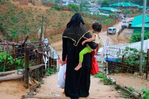 Crisis point: a Rohingya refugee camp in Bangladesh where the struggle against Covid-19 highlights the scale of the humanitarian challenge