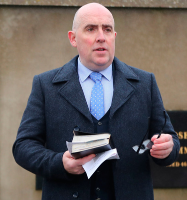 Barrie Halliday faces charges over a controversial Facebook video