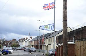 Cantrell Close, a shared housing area off the Ravenhill Road, where four Catholic families in Belfast have left their homes having received sectarian threats