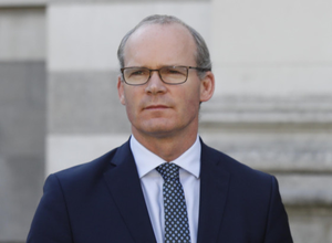 Respected politician: Simon Coveney has won fans in the UK and around Europe