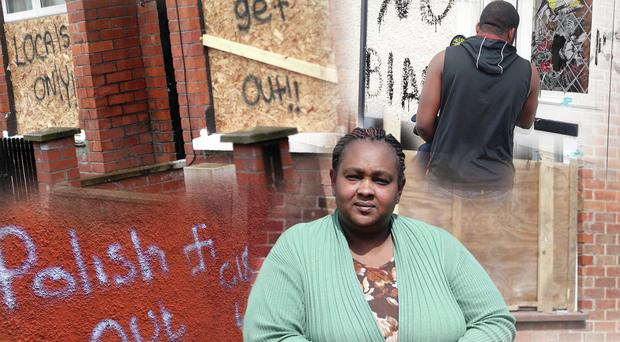 Hate crimes: Victims of racist attacks in Belfast