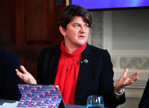 Problems still exist between Arlene Foster (pictured) and Theresa May as well as between Mrs Foster and Sinn Fein leader Michelle O'Neill