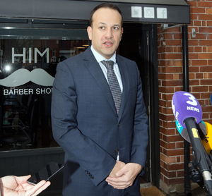 Front-runners to take over as the Taoiseach are Simon Coveney and (pictured) Leo Varadkar