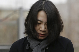 Cho Hyun-ah apologises to the people of Korea for her actions aboard one of her dad's passenger jets