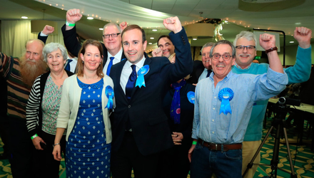 Tory supporters (pictured) in England and SNP backers in Scotland could both cause problems for Northern Irish unionists