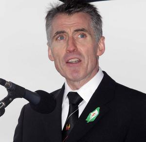 At the weekend, Sinn Fein's national chairman, Declan Kearney, was talking about reconciliation as the next new phase of the peace process