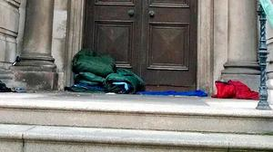 Unacceptable: We have high levels of rough sleeping in Northern Ireland