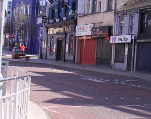 More high streets, such as Bangor's, are seeing increasing closures of shops
