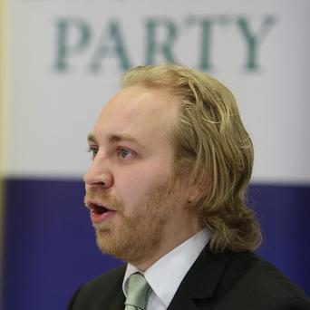 Green Party leader Steven Agnew