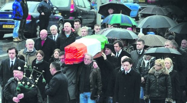 The Dolours Price funeral