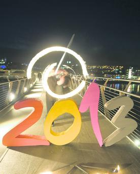 Momentum to remember: the roll-out of the Derry 2013 celebrations must now be capitalised upon