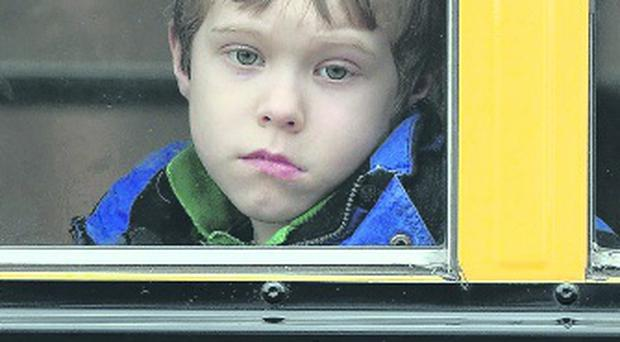 Tragedy: a Sandy Hook pupil