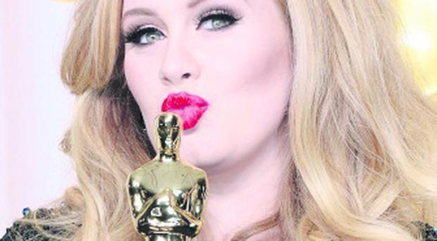 Critics' favourite: Adele