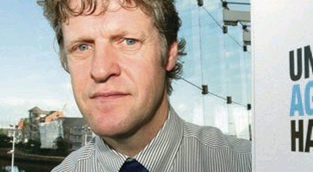 Bullets sent to Belfast councillor Emmet McDonough Brown and Duncan Morrow (above)