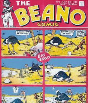 Classic: launch issue of Beano