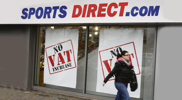 Risky business: Sports Direct stores are under fire for issuing 'zero-hours' contracts.